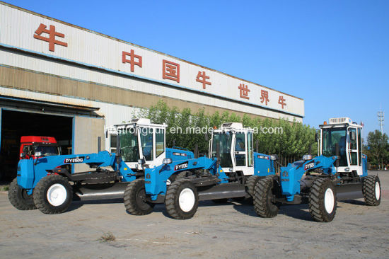 China Cheap Price with High Quality 180HP Motor Grader Land Levelling Equipment Py9180 Grader pictures & photos