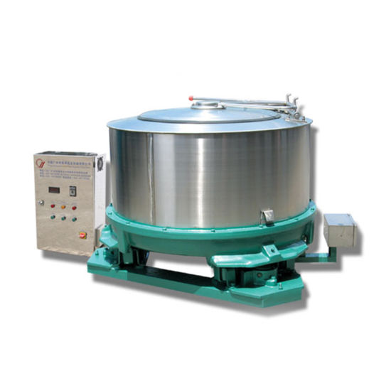 Gz-1100 Automatic Centrifugal Extractor for Cloth Dehydrator Spin Dryer