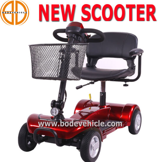 OEM Manufacturer Wholesale 4 Wheel Electric Scooter Foldable Mobility Scooter