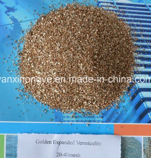 Export Quality Horticulture Golden and Silvery Expaned Vermiculite pictures & photos