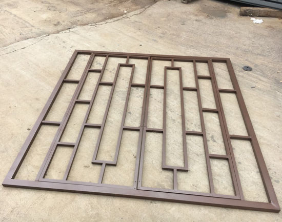China High Quality Wrought Iron Window Grill Design China Building