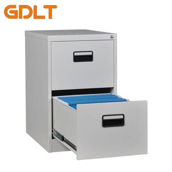 Metal 2 Drawer File Cabinet