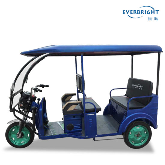 1000W 48V Electric Rickshaw Passenger Tricycle