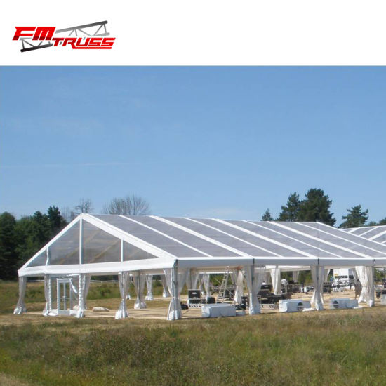 High Quality Big Marquee 1000 People Clear Roof Tent for Hire and Rental pictures & photos