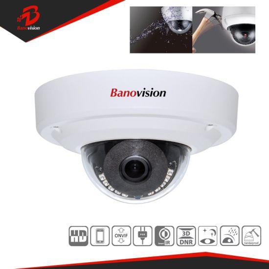 CCTV Vandal Proof 2MP Network IP Dome Camera