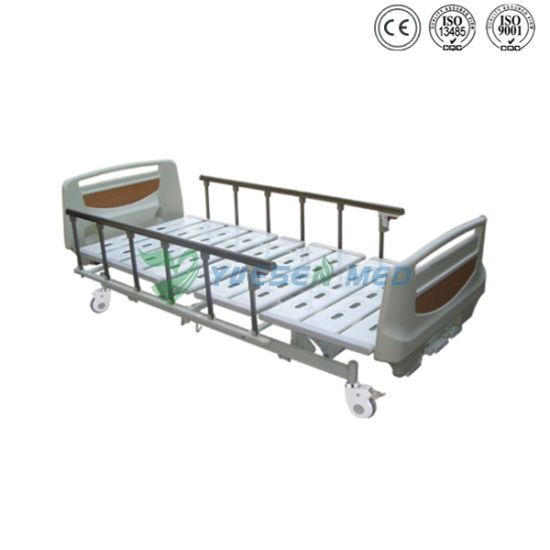 Medical Yshb103A Manual Hospital ICU Adjustable Patient Bed pictures & photos