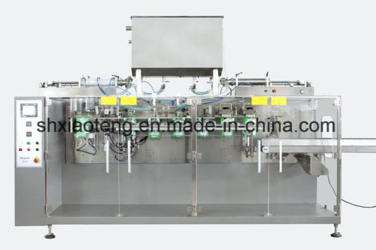 Automatic Pre-Made Pouch Filling and Sealing Packaging Machine pictures & photos