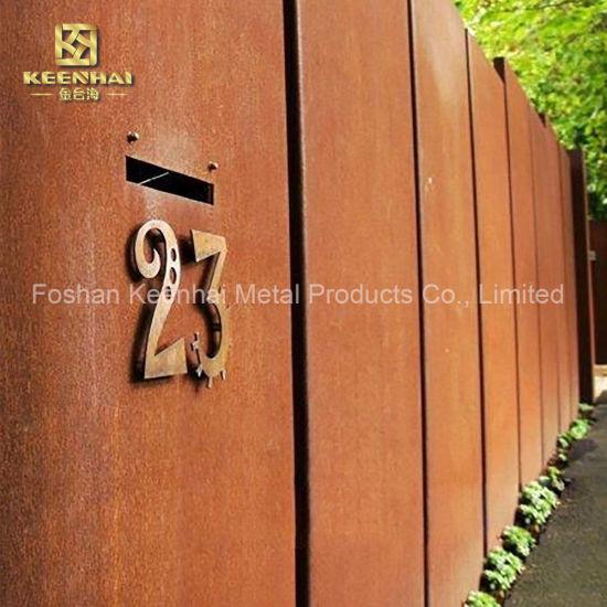 Price Wall Corten Steel Sheet Plate