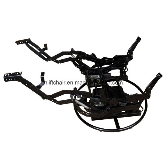 China 360 Degree Swivel Sofa Recliner Mechanism With Ring Base
