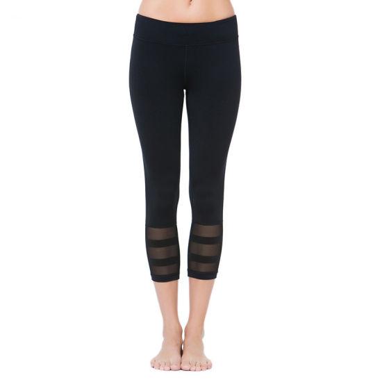 668d4f43d4eba Patchwork White Yoga Pants Women High Waist Print Gym Sport Fitness  Leggings Workout Running Tights Yoga Pants