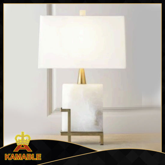 Wholesale Interior Home Hotel Decorative Marble Modern Desk Lamp (KAT6104)