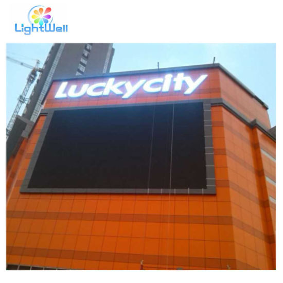 P6 LED Advertising LED Display Board Suppliers LED Screen Panel Outdoor