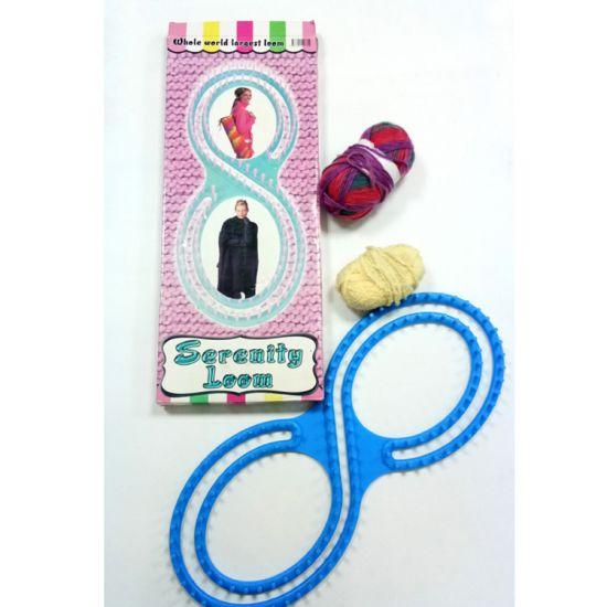 China High Quality Diy Knitting Loom Plastic Weaving Loom 8 Shape