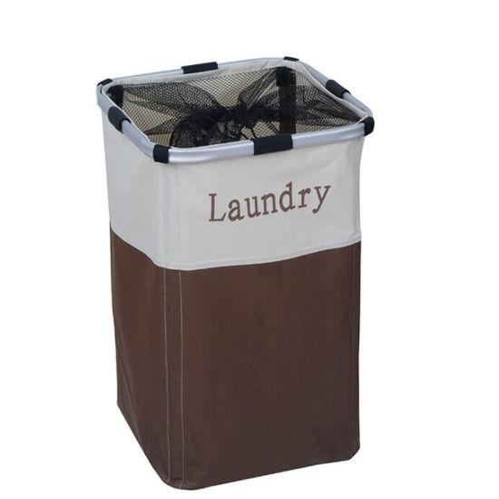Rectangle Washing Basket Oxford Clothes Laundry Basket