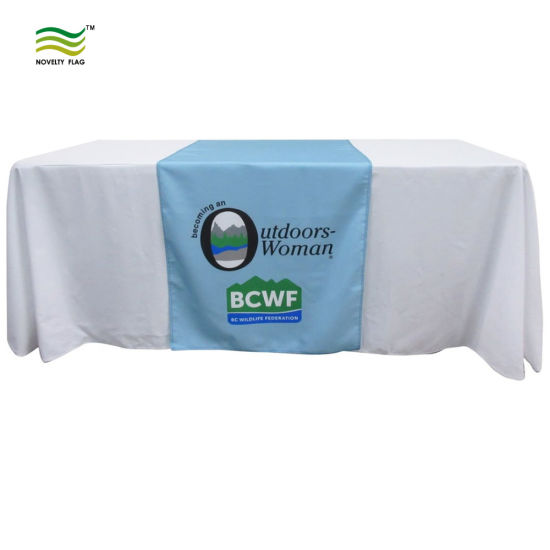 Multiple Styles and Fits Table Cloth/Runner/Skirt/Drape Throw Table Cover pictures & photos