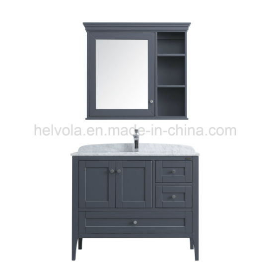 Sanitary Ware Bathroom Basin Accessories Cabinet Vanity Solid Wood Pvc Mdf With Mirror Stainless Steel Furniture 1