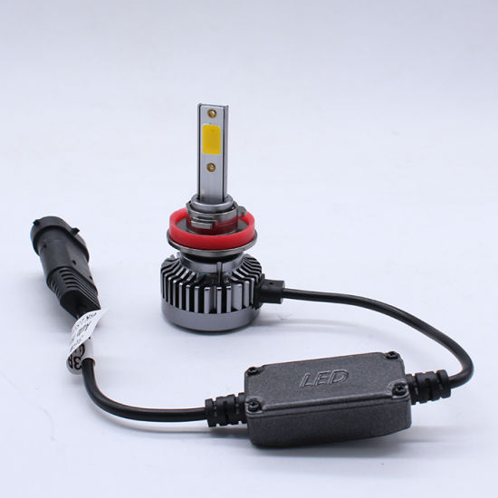 Gt3b Wholesale Auto X3 Dual Color White Yellow C6 Car LED Headlight Conversion Kitled H11 Bulb