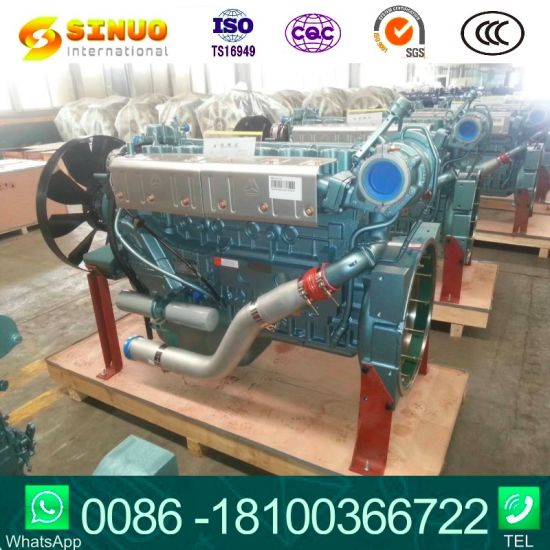 Used Sinotruk Engines 336/371 Gear Box 10/12 HOWO Truck Parts Engine Parts Gearbox Parts Axle Parts Used Engine for HOWO Tipper Tractor Truck
