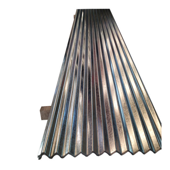 Building Material Aluzinc Galvanized Corrugated Steel Roofing Sheet