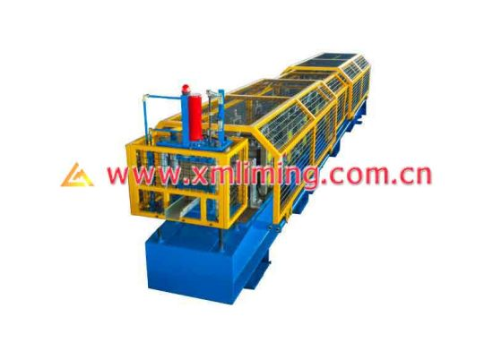 Xiamen Liming Customized Square Gutter Roll Forming Machine