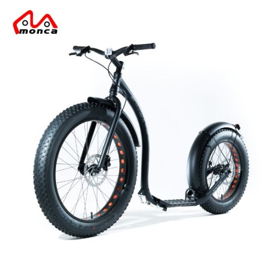 2018 New Design Fat Tyre Electric Kick Scooter E Kick Scooter E Balance Bike Motorcycle pictures & photos