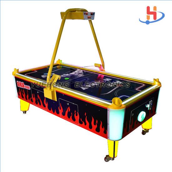 LED Flashing High Profitable Business Guangzhou Air Hockey Arcades for Shopping Mall