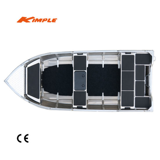 China Kimple-Adventure 460 Aluminum Boat for Sale - China Aluminum