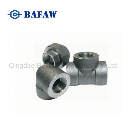 High Pressure Forged Socket Welding Carbon Steel Pipe Fitting