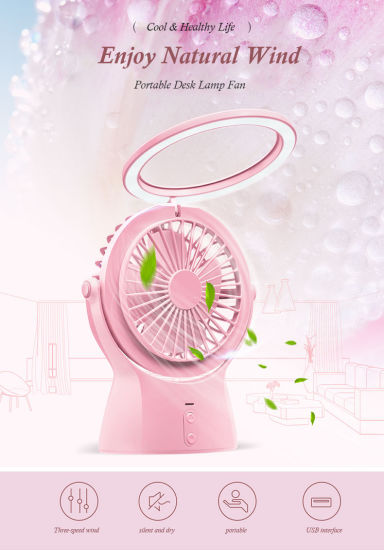 Portable Handheld Electric Hand Mini Fan with USB Cable