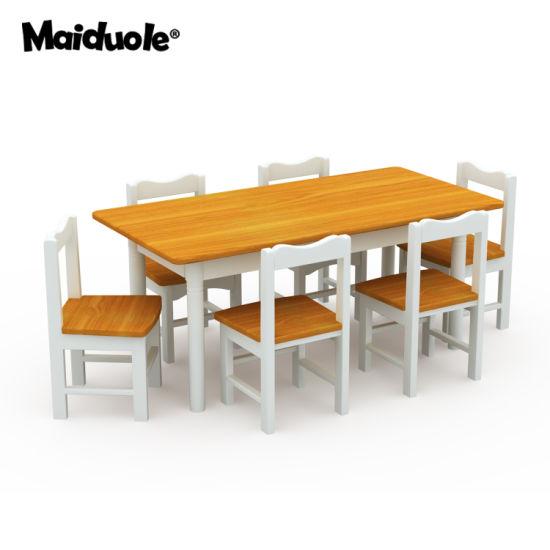 Children School Furniture, Preschool and Nursery Study Table, Kindergarten Classroom Table