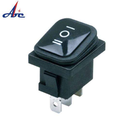 Kcd2-6103-3 3 Position 3pin Waterproof Rocker Switch