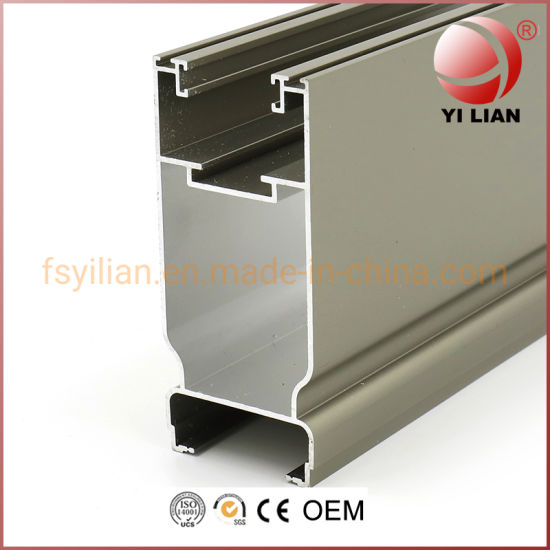 Factory Price Anodize Bronze Aluminum Extrusion Profile for Window and Door pictures & photos