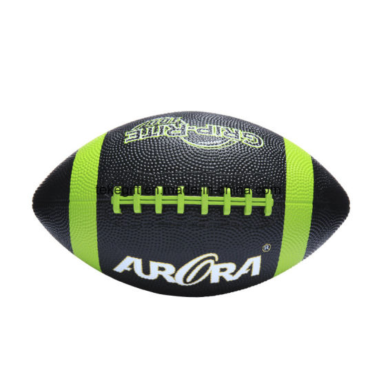 brand new 0cc54 f6fc1 China Wholesale Cheap Custom Rubber American Football Size ...