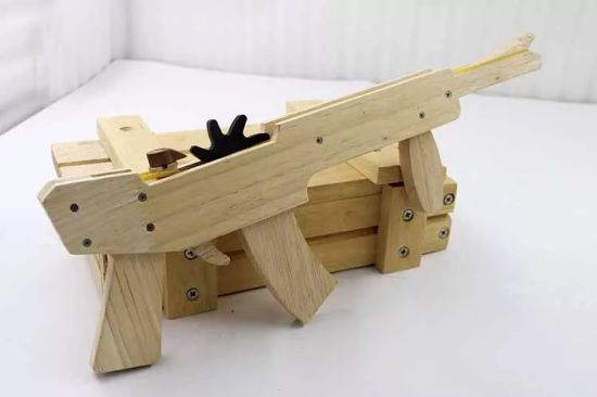 CNC Rubber Band Wooden Toy Gun pictures & photos