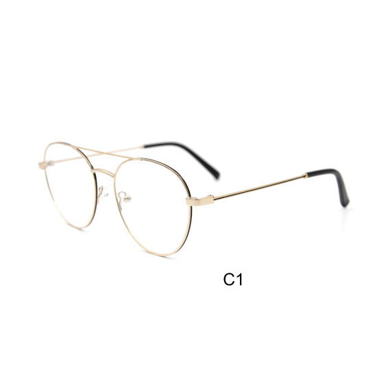 54bbcf1fc13 2019 High Quality Optical Glasses Eyeglasses Frame Classical Design Metal  Vintage Glasses Frame with Wholesale Price