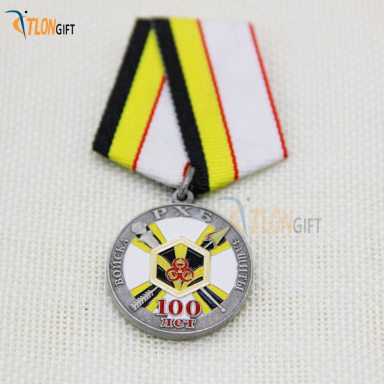 New Product Customized High Quality Metal Round Award Badge