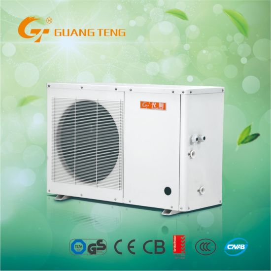 New Configuration R410A Energy Saving Air To Water Heat Pump Water Heater Air Source Heat Pump GT-SKR4KB-10