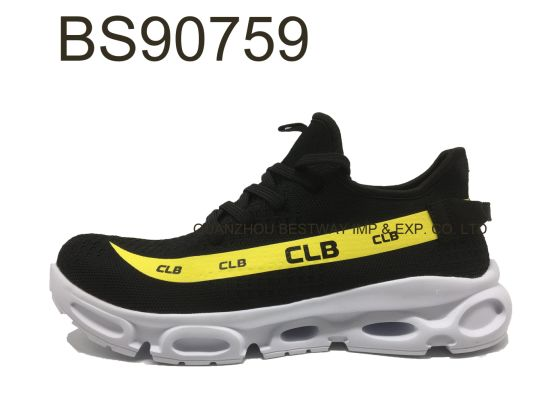 Breathable Men Trainer Fashion Design Footwear Sports Running Shoes