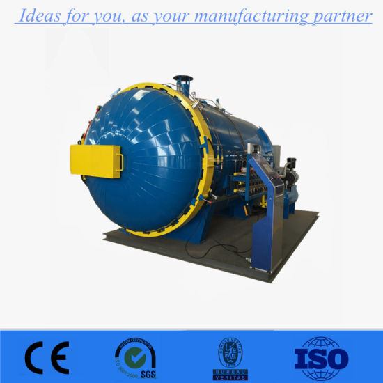 Industrial Carbon Fiber High Pressure Reactor Autoclave with High Efficiency pictures & photos
