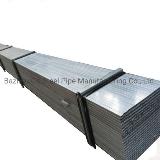 Mild Carbon Steel Galvanized Gi Rectangular Square Steel Tube Factory