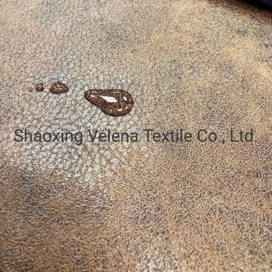 Hot Sale Holland Velvet Dyeing with Glue Emboss Upholstery Technology Sofa Furniture Home Textile Fabric