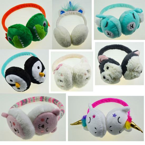 Assorted Colors Winter Warm Earmuff Kids Earflap pictures & photos