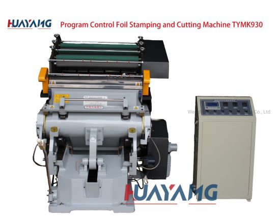 Program Control Foil Stamping and Cutting Machine Tymk-930