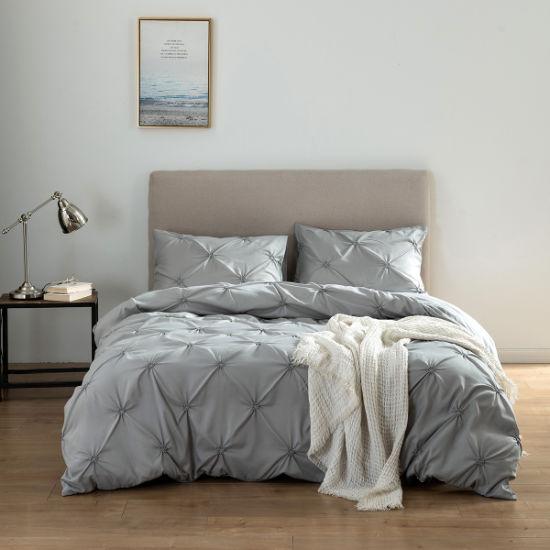 Made in China Wholesale Online Market Printed 4 PCS Duvet Cover Bedsheet Bedspread Comforter Bedding Set