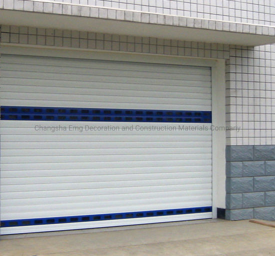 Electric Industrial Roller Shutters Rolling Shutter Roll-up Garage Door
