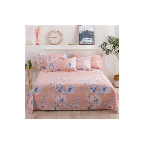 Printing Bedsheet Polyester Woven Textile Fabric