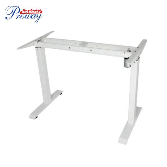 Single Motor Electric Height Adjustable Standing Office Desk