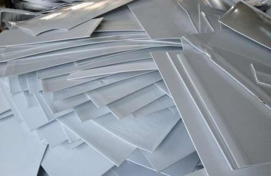 Side Material Reprocessing Without Waste ABS Sheet