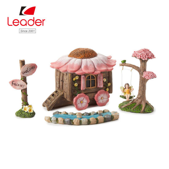 Flowers Fairy Garden House Accessories Wind Mill Miniatures 3.5 inches NEW