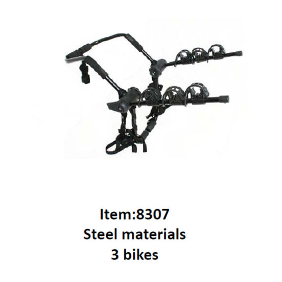 Universal Steel Car Rack Bike Carriers for Car Rear Trunk (8319, etc) pictures & photos